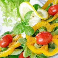 Greens Pepper Tomatot